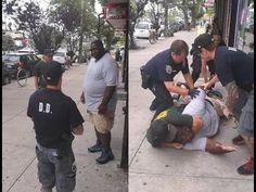 Police Brutality: Black Man 'Eric Garner' killed by Police for braking u...
