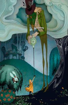 Alice's Adventures in Wonderland by Michael Okey