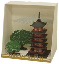 "Paper Nano ""Five storied pagoda"" | Kawada PN-102"