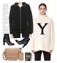 """""""SVMOSCOW 4"""" by merima-kopic ❤ liked on Polyvore featuring Yohji Yamamoto, DAMIR DOMA, Ann Demeulemeester, Valentino, Bobbi Brown Cosmetics, Fall, trend, shop and svmoscow"""