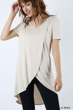 ed85e8dfd92a5 Zain Tulip Wrap Nursing Top Post Pregnancy Fashion, Post Baby Fashion,  Maternity Fashion,