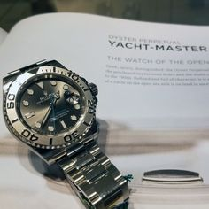 #Rolex#Yachtmaster #Watch - The Watch of the Open Seas