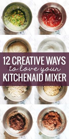 12 Creative Ways to Use a KitchenAid Mixer, from bread to guacamole to shredded meat and more! 12 Creative Ways to Use a KitchenAid Mixer, from bread to guacamole to shredded meat and more! Kitchen Aid Artisan, Kitchen Aid Mixer, Cooking Tips, Cooking Recipes, Healthy Recipes, Cooking Videos, Cooking Classes, Culinary Classes, Diet Recipes