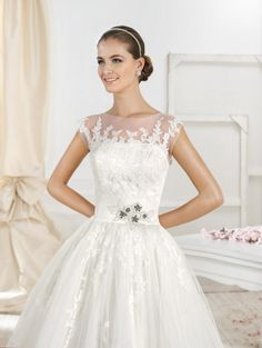 We could not be more in love with Fara Sposa Wedding Dresses 2014: http://www.modwedding.com/2014/10/23/love-fara-sposa-wedding-dresses-2014/ #wedding #weddings #wedding_dress