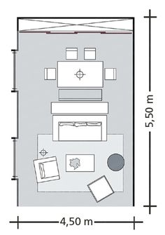 How To Combine Combine Three Rooms In One Living Room                                                                                                                                                     More
