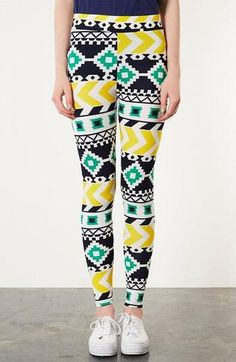Print leggings. Yes please. This reminds me so much of the grand canyon