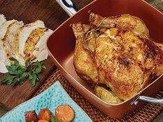 Roast Chicken in the Copper Chef Pan!  Recipes | Copper Chef™ #Recipes