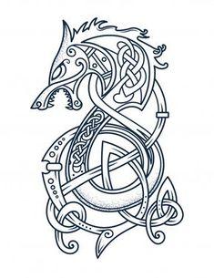 'Viking Dragon Tattoo Kattegat Floki T-Shirt & accessories f.- 'Viking Dragon Tattoo Kattegat Floki T-Shirt & accessories for Viking warriors Lover' Glossy Sticker by - Viking Halloween Costume, Vikings Halloween, Fenrir Tattoo, Norse Tattoo, Armor Tattoo, Wiccan Tattoos, Celtic Wolf Tattoo, Celtic Tattoos For Men, Celtic Dragon Tattoos