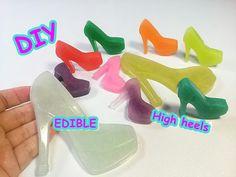 DIY Edible Pearl High heels 먹을 수 있는 펄 하이힐 만들기 놀이 식완
