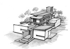 Image of: architecture house sketch ideas mouttethousecontemporarymoderntrinidadresidentialhomejamie yourhome house in the caribbean jamie fobert architects Architecture Concept Drawings, Architecture Sketchbook, Pavilion Architecture, Architecture Design, Sustainable Architecture, Residential Architecture, Landscape Architecture, Contemporary Architecture, Japanese Architecture