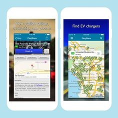 DL this app to find the closest electric car charging station.