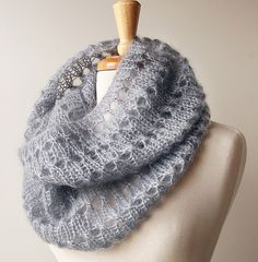 #knit mohair cowl