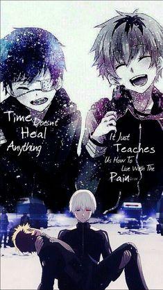 Le temps ne guérit rien, il nous apprend juste à vivre avec la tristesse.