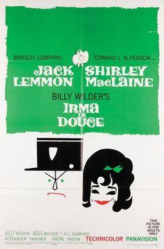 #Sixties | Irma la Douce, starring Jack Lemmon and Shirley MacLaine, 1963