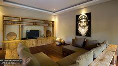 living room in Bali