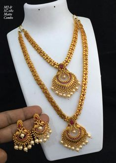 Gold Chain Design, Gold Jewellery Design, Gold Jewelry, Indian Wedding Jewelry, Indian Jewelry, Bridal Jewelry, Gold Earrings Designs, Necklace Designs, Jewelry Collection