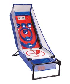 No way!! Indoor skeeball, this is the neatest thing ever #zulilyfinds