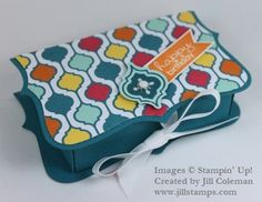 Top Note Treat Box and Pattern