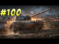 World of Tanks Blitz - прохождение дилетанта №100