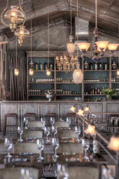El Bistrot Lounge en Seminya, Bali. proyecto del equipo marroquí-belga,Zohra.