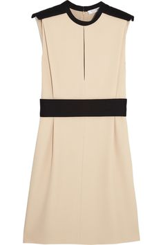 Chloé Two-tone crepe dress