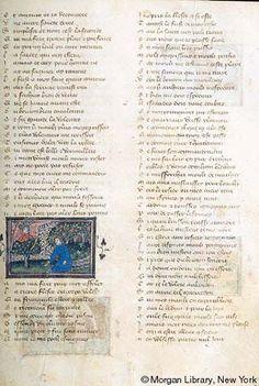 Roman de la Rose, MS G.32 fol. 14r - Images from Medieval and Renaissance Manuscripts - The Morgan Library & Museum