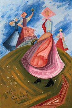 Josef Čapek 1936 (CZECH AVANTEGARDE ART - The Group Tvrdošíjní - The Stubborn) Cubism, World War Two, Painters, Wwii, Modern Art, Presents, Group, Illustration, Artwork