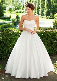 Lea-Ann Belter Bridal - Stephanie - ball gown, strapless, natural waistline, sleeveless $$$$