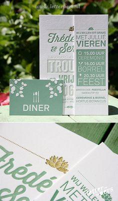 letterpers_letterpress_trouwkaart_Frédérique_serge_mint_goud