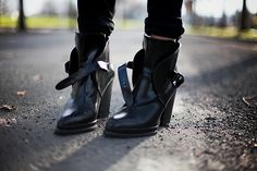 Zara ankle boots.