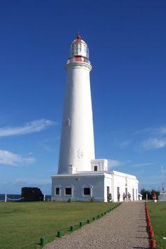 Lighthouse of La Paloma Rocha, Uruguay- by elizabeth.otag