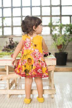 Vestido con colores encendidos <3