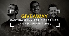 GIVEAWAY!!! Invitații 3-Day-Pass Gratuite la GPEC Summit 2015 (valoare totala: 414 Euro)