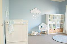 nuvem na decoracao do quarto do bebe.10