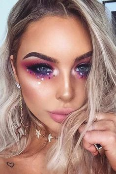 "36 Fairy Unicorn Makeup Ideas For Parties Magical Unicorn Makeup picture2 See more: ""… - http://makeupaccesory.com/36-fairy-unicorn-makeup-ideas-for-parties-magical-unicorn-makeup-picture2-see-more/"