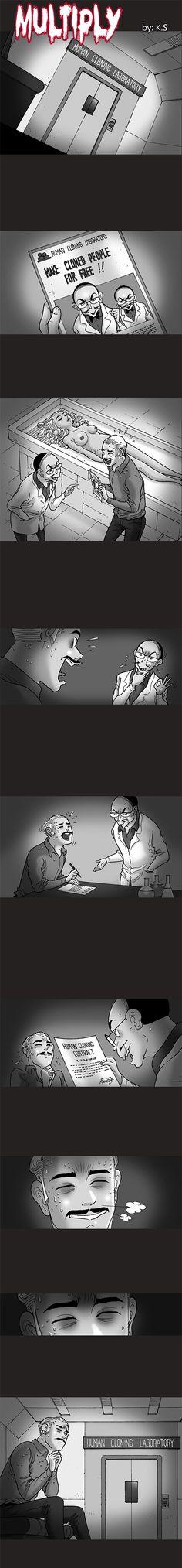 Silent Horror chap 245: Multiply - Nhân bản