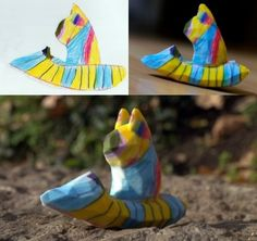 Children's drawings become 3D printed figurines « Ponoko – Blog