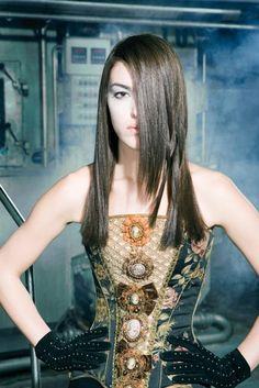 Blue 01 Stylist. Hair Factory Collection.