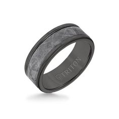 White Gold Wedding Bands, Wedding Ring Bands, Meteorite Wedding Band, Mens Tungsten Wedding Bands, Triton Rings, Measure Ring Size, Cushion Cut Engagement Ring, Solitaire Engagement, Wedding Men