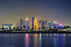 Doha is the best city:A visitor who descends into Qatar,will be welcomed by the eye-catching view of the capital city.Doha place filled with desert escapade Doha, Qatar Travel, Privacy Policy, Best Cities, Capital City, Travel Advice, New York Skyline, Places To Visit, Challenges