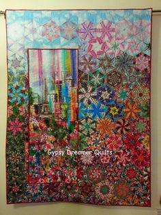 Gypsy Dreamer Quilts: Wanderlust: Experiment with a One Block Wonder layout, Amazing job! One Block Wonder, Quilting Projects, Quilting Designs, Quilting Classes, Quilting Ideas, Panel Quilts, Quilt Blocks, Kaleidoscope Quilt, Summer Quilts