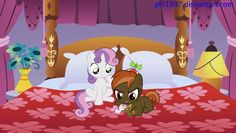 Sweetie belle with her crush