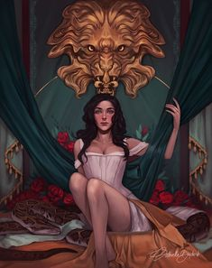 The Beautiful, an art print by Gabriella Bujdoso Character Inspiration, Character Art, Character Design, Fantasy Books, Fantasy Art, The Remnant Chronicles, Throne Of Glass, Romance, Book Characters