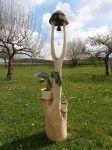 Zvonička z lipového dřeva, orientační cena v dubu Baseball