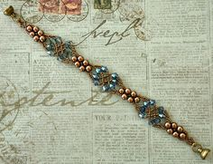 Linda's Crafty Inspirations: Bracelet of the Day: Celtic Bracelet