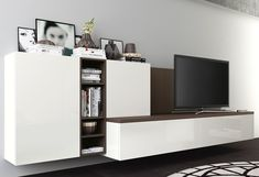 Living Room Wall Units, Living Rooms, Lcd Units, Home Interior, Interior Design, Family Room, Home And Family, Tv Wand, Tv Cabinets