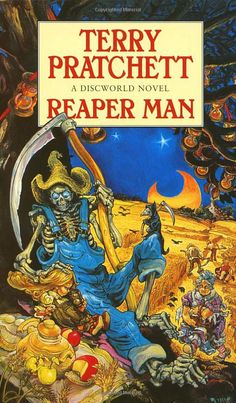 Reaper Man: Discworld Novel 11 by  Terry Pratchett, the UK cover