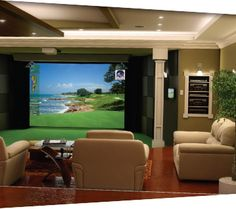 <<Go to the webpage to see more on golf instruction near me. Check the webpage for more information>> Our web images are a must see! Home Golf Simulator, Golf R Mk7, Golf Room, Waterfall House, Golf Cart Parts, Golf Apps, Golf Pride Grips, Basement House, Basement Walls