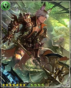 Bayle,_Vulpine_Warrior: The Order of the Shining Knights was a fellowship of those whose lives were shattered by great loss. We swore to protect others from our dark fate. Fantasy Characters, Anime Characters, Shingeki No Bahamut, Demi Human, Dark Men, Fantasy Illustration, Fantastic Art, Character Design Inspiration, Card Games