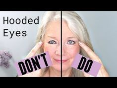 Do's and Don'ts for Hooded, Downturn or Mature Eye Makeup - YouTube